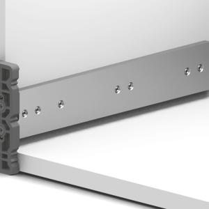 Regla guia de montaje riel oculto Smart Slide